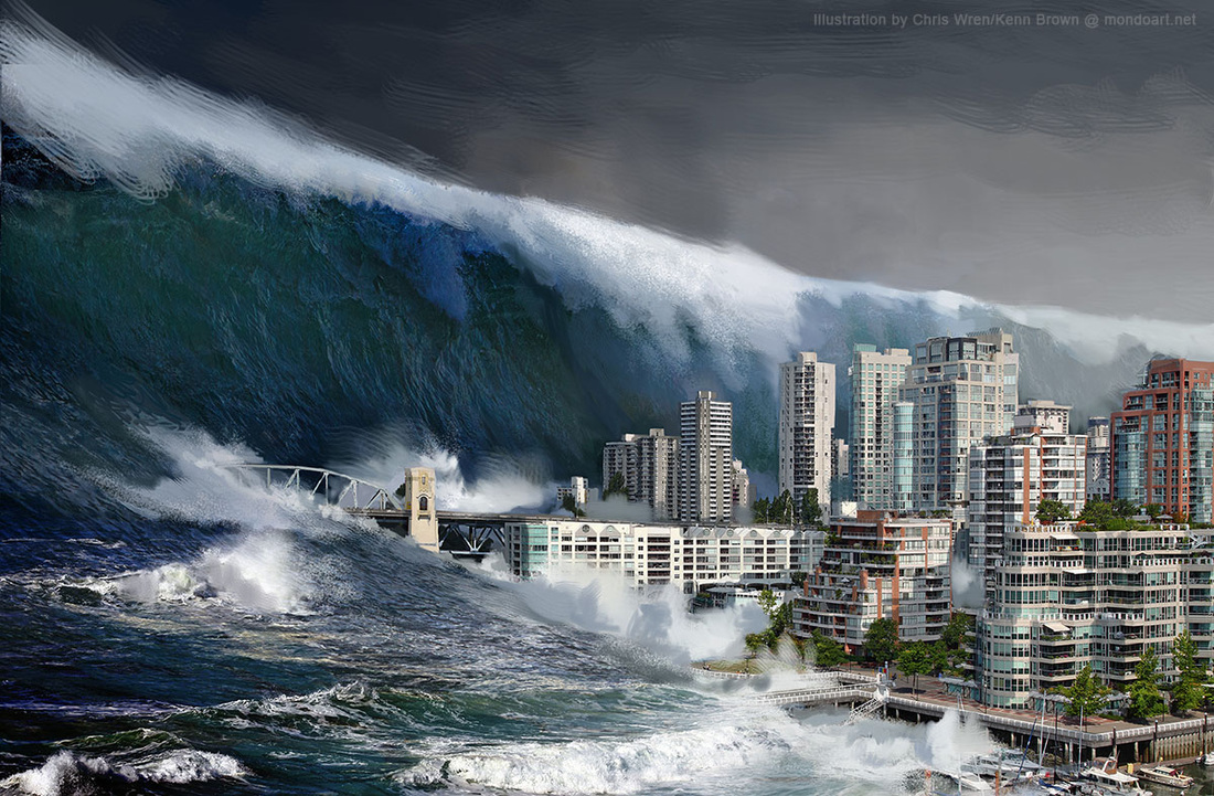 The biggest tsunami in the world 22